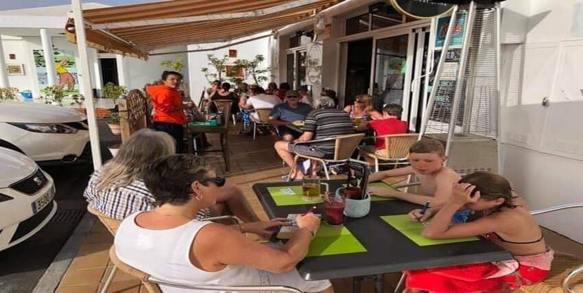 Cafe Med - San Andres  - Golf del Sur - Tenerife